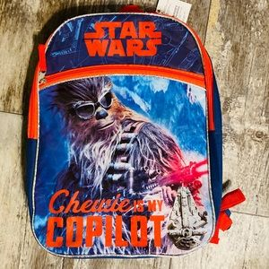 Star Wars Chewie Backpack NWT